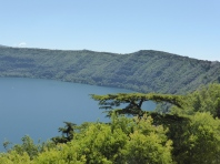 View from the Papal Palace - Lago Albano